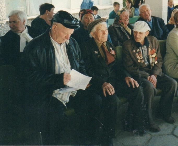Слева-направо: Соглаев Владимир Дмитриевич, Панащук Петр Алексеевич, Алипов Петр Никитьевич