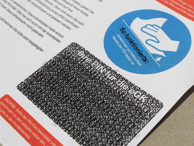 Laser PIN Mailer
