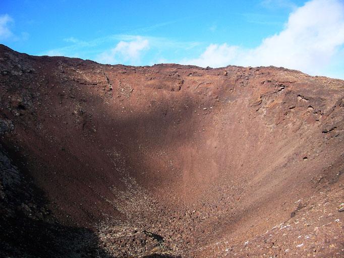 Einblick in den Vulkan