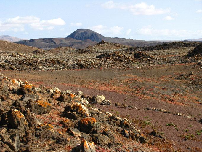 Vulkanlandschaft auf Fuerteventura