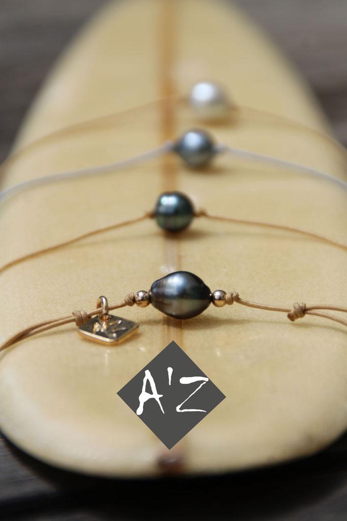Perle de Tahiti Atelier Art'Zazimut Laurence Loustaneau