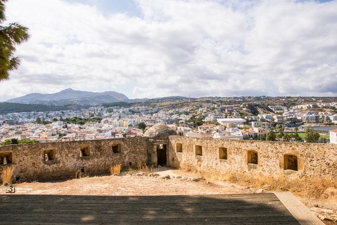 Fortezza in der Altstadt von Rethymnon
