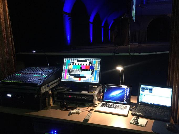 Stadtbad Leipzig Technik& Musik für Gala Dinner inkl. Videoprojektion