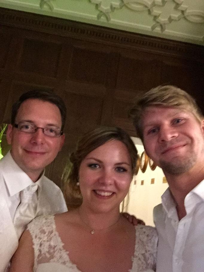 Hochzeits- Selfie:)
