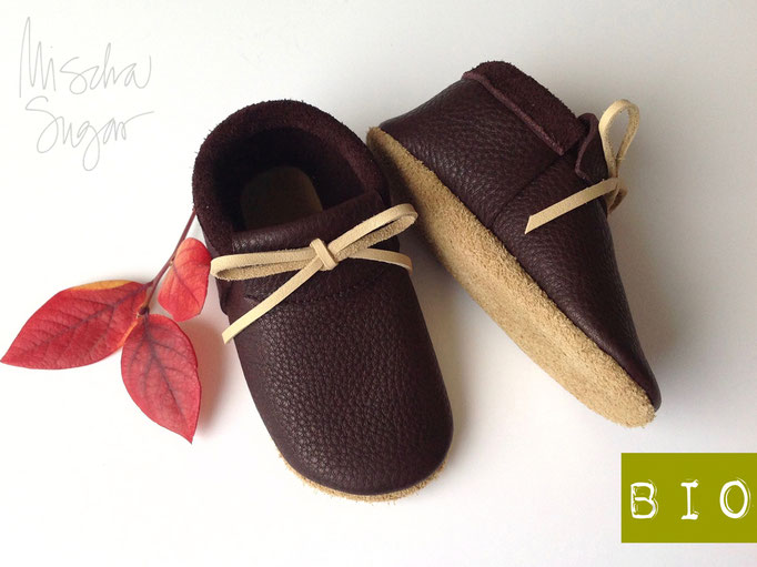 Mokassins in brownie, Schleife & Sohle sandbeige, ab 40,90€
