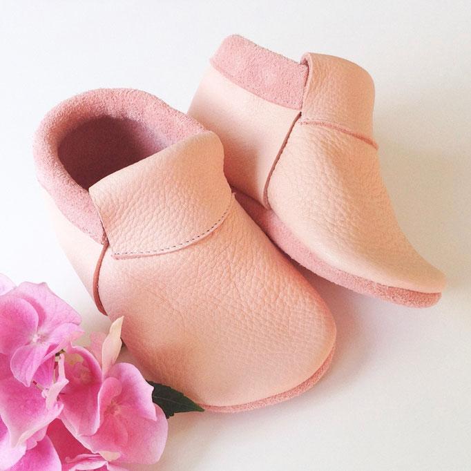 Mokassins Classic in rosa