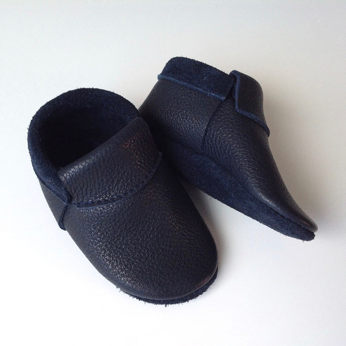 Mokassins Classic in schwarzblau