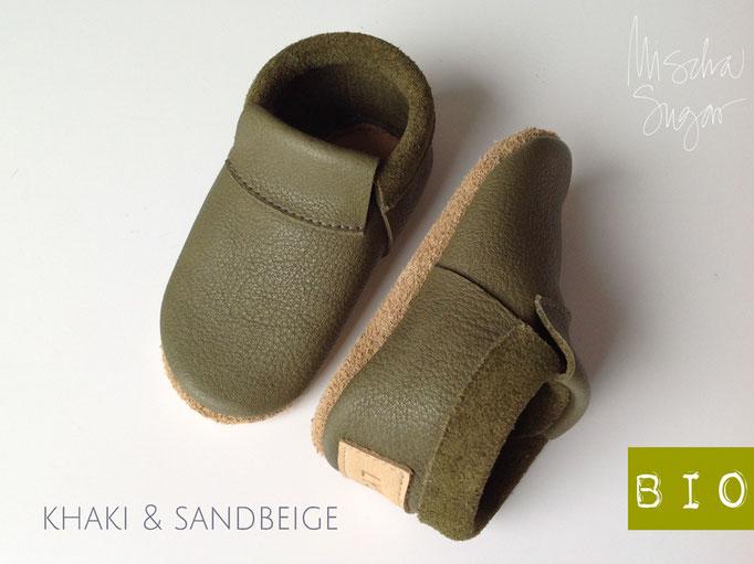 "Mokassins ""Classic"" in khaki 6 sandbeige ab 39,40€"