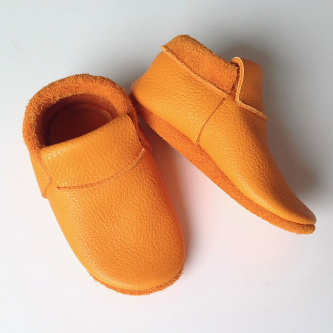 Mokassins Classic in orange