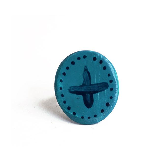 Δαχτυλίδι πηλό μοντελισμού (διάμετρο 3 cm) 5 Ευρώ  (Διαθέσιμο και για μαρτυρικά)