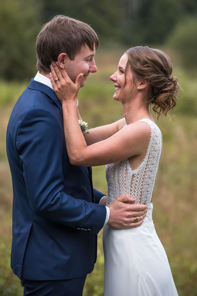 Brautfrisur für den schönsten Tag
