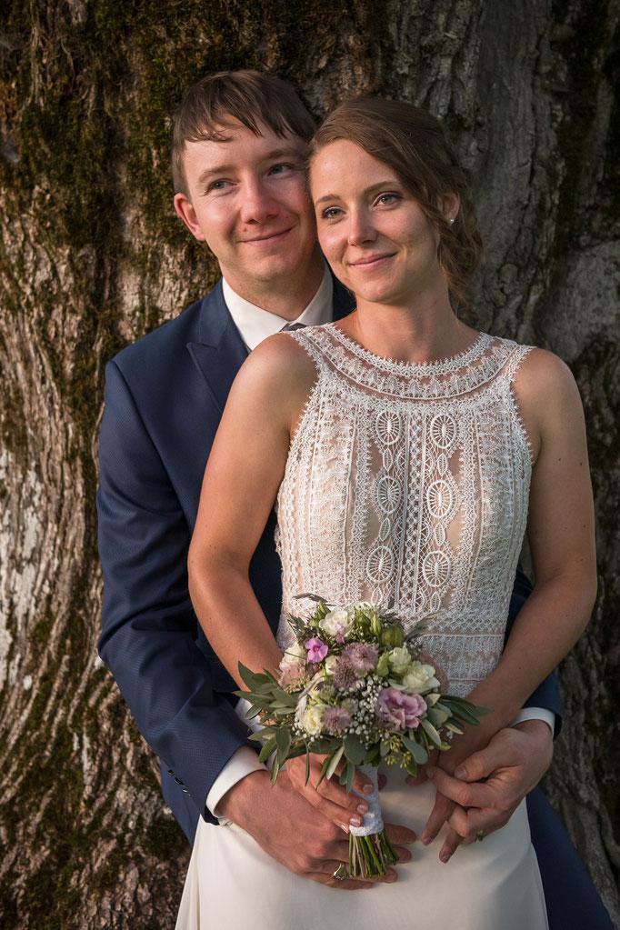 Hochzeitsfrisur - Coiffure Lockenroll Steffisburg