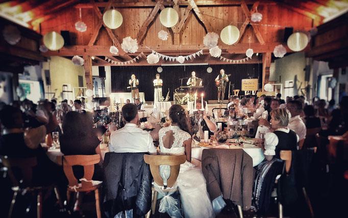 Trachtenheim Irschenberg, Hochzeitssaal mit bayerischem Flair