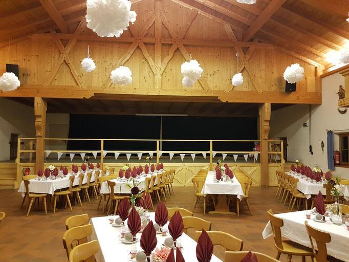 Hochzeitslocation gesucht? Trachtenheim Irschenberg