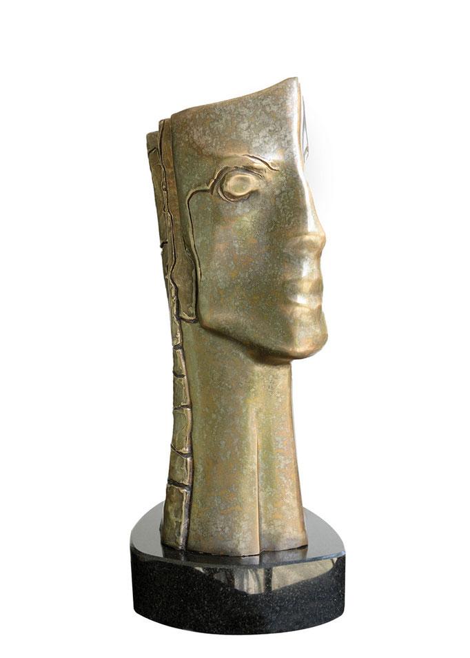 PRUNELLES SOLAIRES, Bronze - 15 X 13 X 36 cm