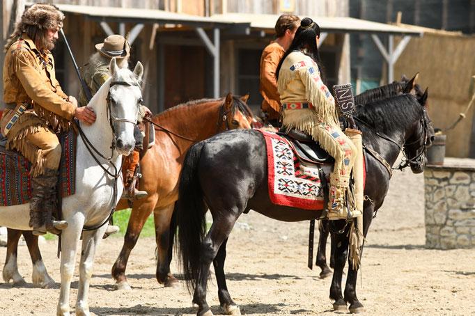 foto-aldente.net - Fotografie Karl May Freilichtspiele Engelberg - Winnetou II - Pferdefotografie
