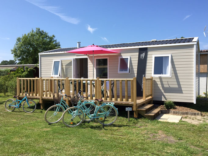 Camping Quend-Plage-Baie de Somme-Camping Fort-Mahon-Picardie-locations Mobil-Home- location insolite - Camping Clos des Genêts - emplacements caravanes tentes camping-cars-Plage du Marquenterre