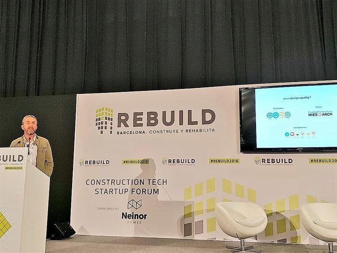 José Juan Fructuoso Sempere Fundador BILI.  THE BUILDING DATA LIBRARY