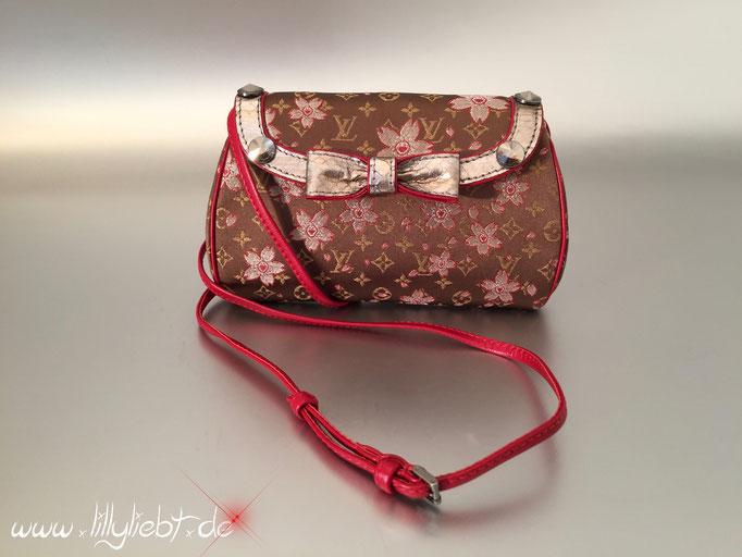 Louis Vuitton Satin Cherry Blossom Griotte