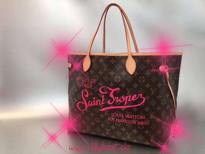Louis Vuitton Monogram Canvas Neverfull MM (Resort Edition - Saint Tropez)