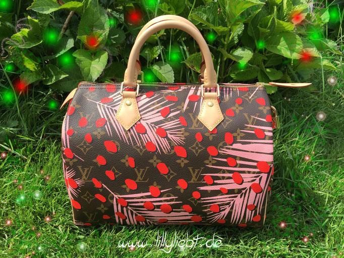 Louis Vuitton Monogram Jungle Speedy 30 in Sugar Pink Poppy