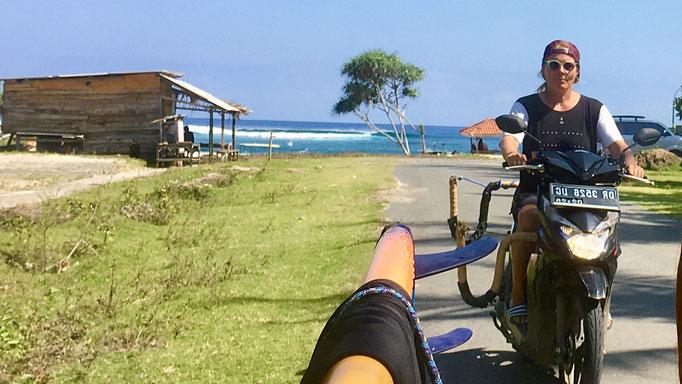 Tropicals surfspot Sumbawa