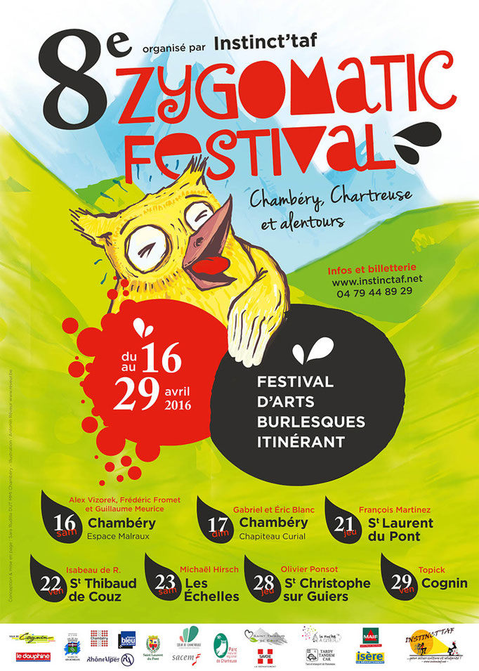 Zygomatic Festival affiche 2016