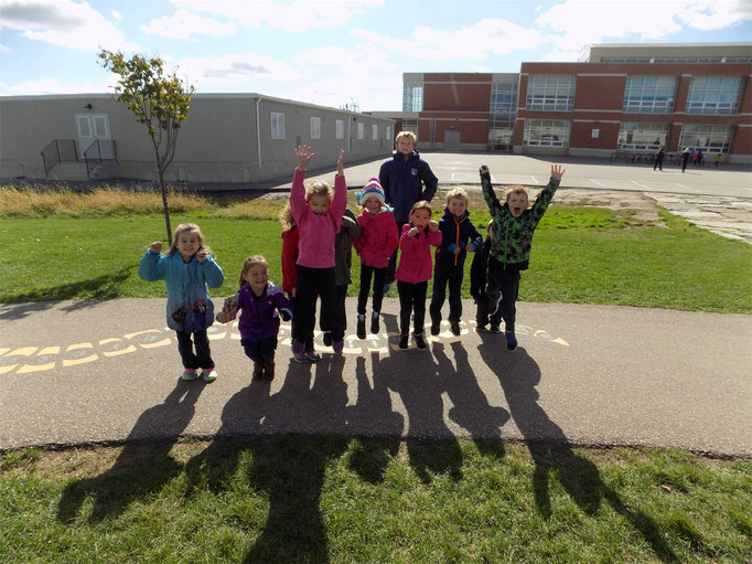 Lot's of fun at St. Matthew Catholic Elementary school in Hamilton, Ontario