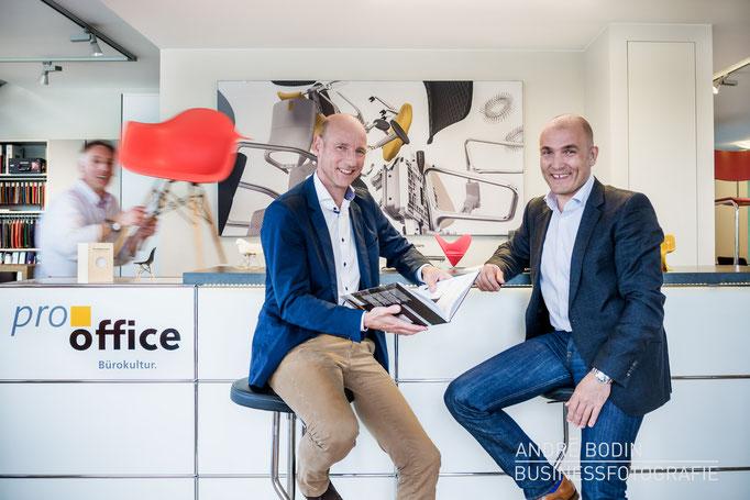 Businessfotografie: Geschäftsführerportrait bzw Charakterportraits für ein Unternehmen für Büromöbel