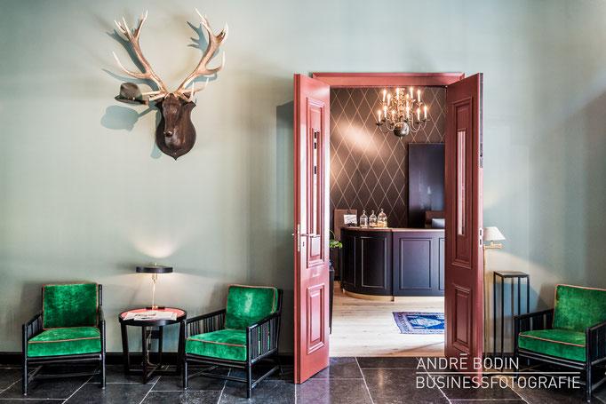 Businessfotografie: Hotelfotos und Innenarchitekturfotos für ein Magazin und Eigenwerbung