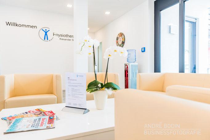 Businessfotografie: Praxisfotosfotos, Imagefotos und Detailaufnahmen für die Webseite eines Physiotherapeuten