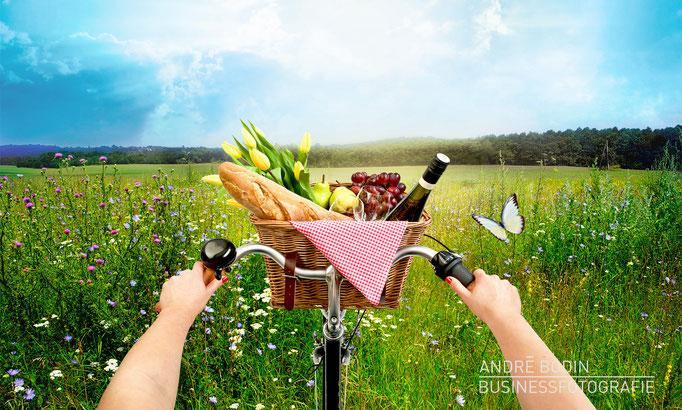 Werbefotografie:  Freisteller für die Anzeigenkampagne eines Mobilitätsunternehmens