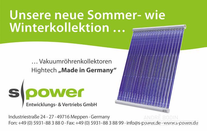 Werbefotografie: Produktfotos und Freisteller für die Webseite und Anzeigenkampagne eines Herstellers für Solarthermie