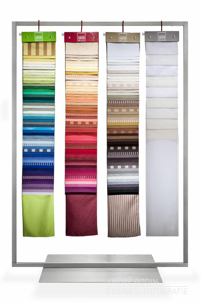 Werbefotografie: Produktfotos und Freisteller für die Webseite eines Textilverlages