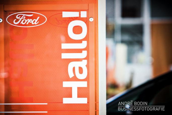 Werbefotografie: Unternehmensfotos und Detailaufnahmen für die Webseite eines Autohändlers