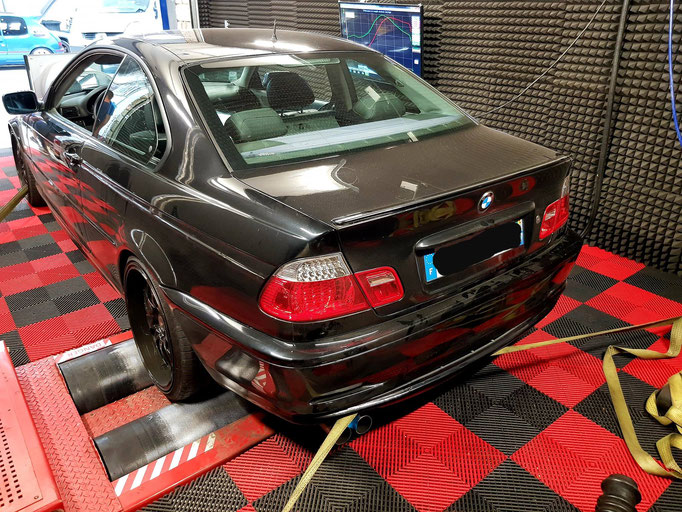 BMW 328I TURBO ETHANOL 193CV@400CV