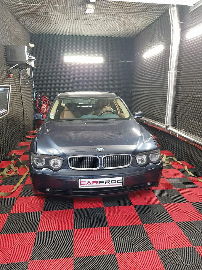 BMW 745I ETHANOL