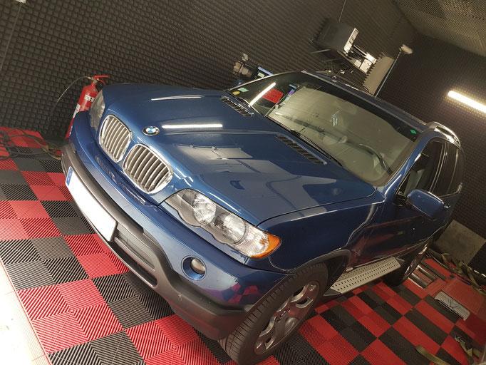 BMW X5 4.4I ETHANOL