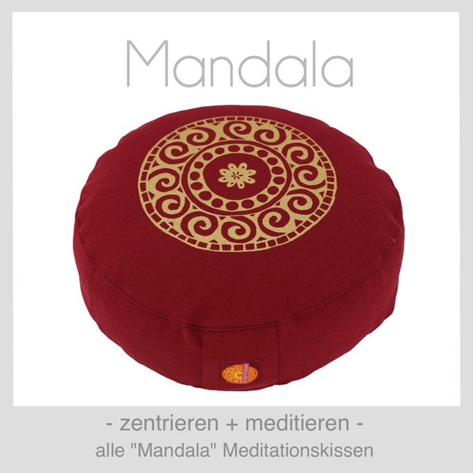 """Designer Meditationskissen """"Mandala"""""""