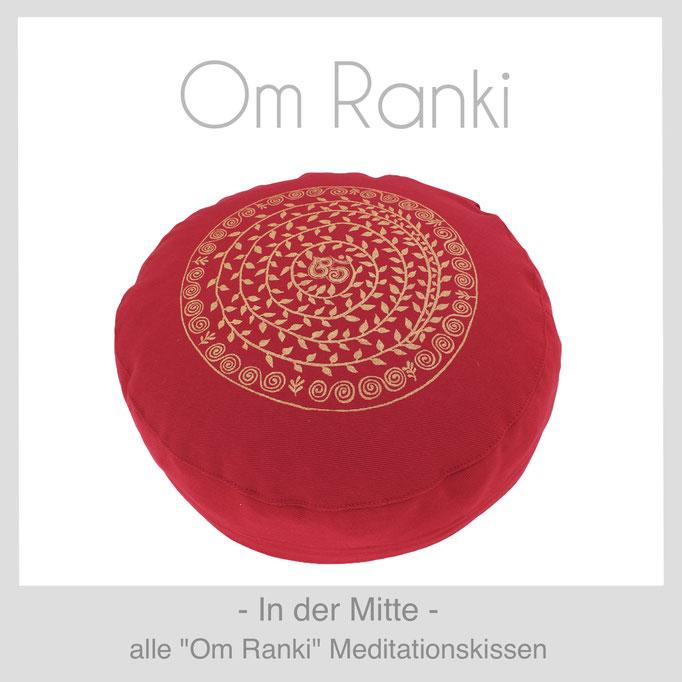 """Designer Meditationskissen """"Om Ranki"""""""