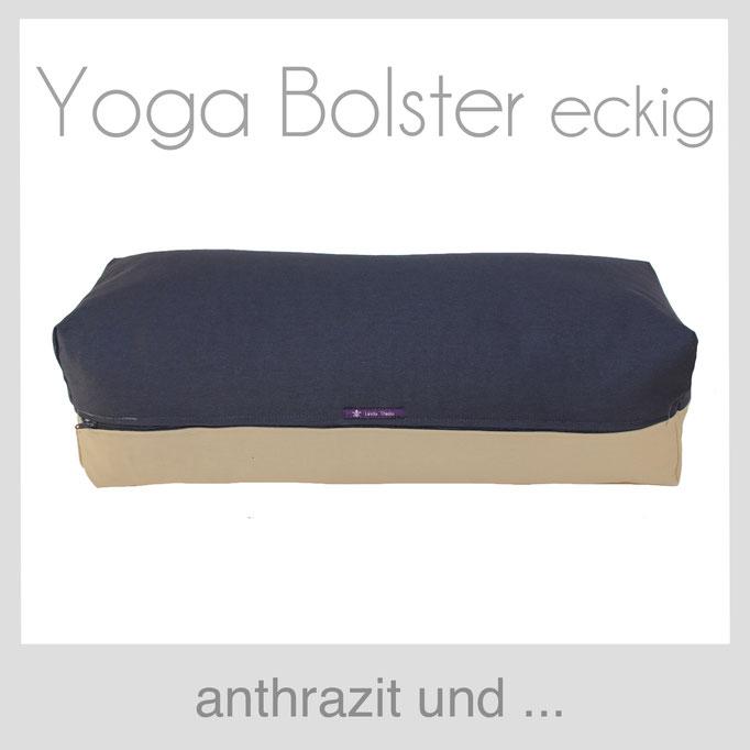 Yoga Bolster eckig Köln nthrazit +