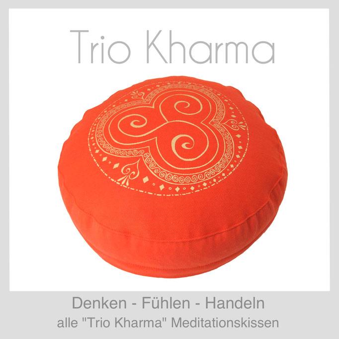 "Designer Meditationskissen ""Trio Kharma"""