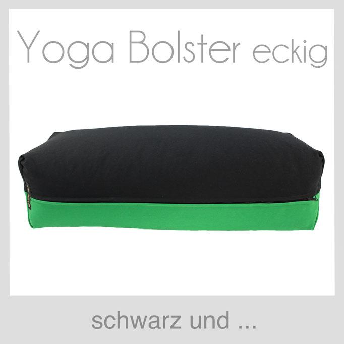 Yoga Bolster eckig Köln schwarz +