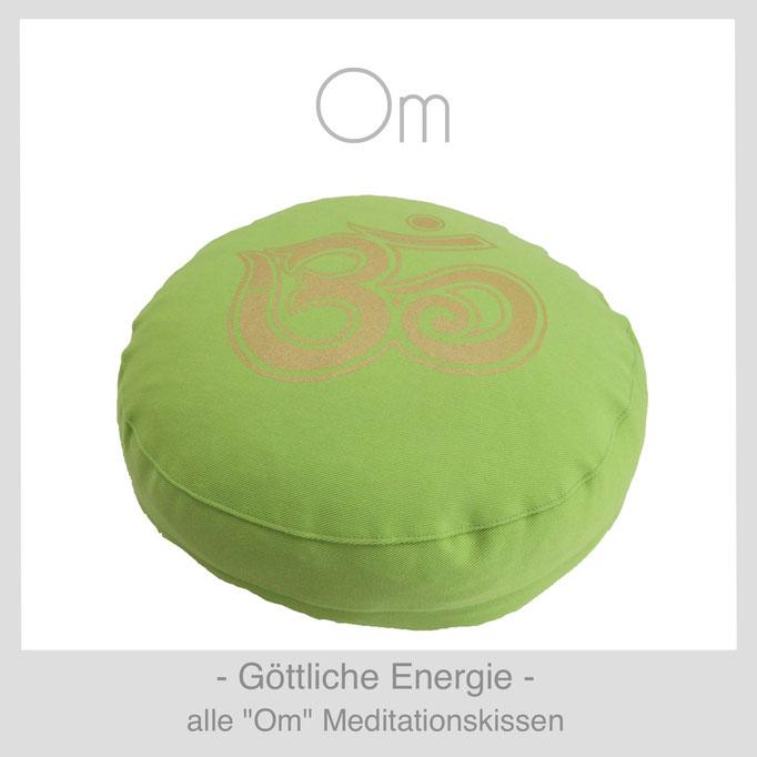 """Designer Meditationskissen """"Om"""""""