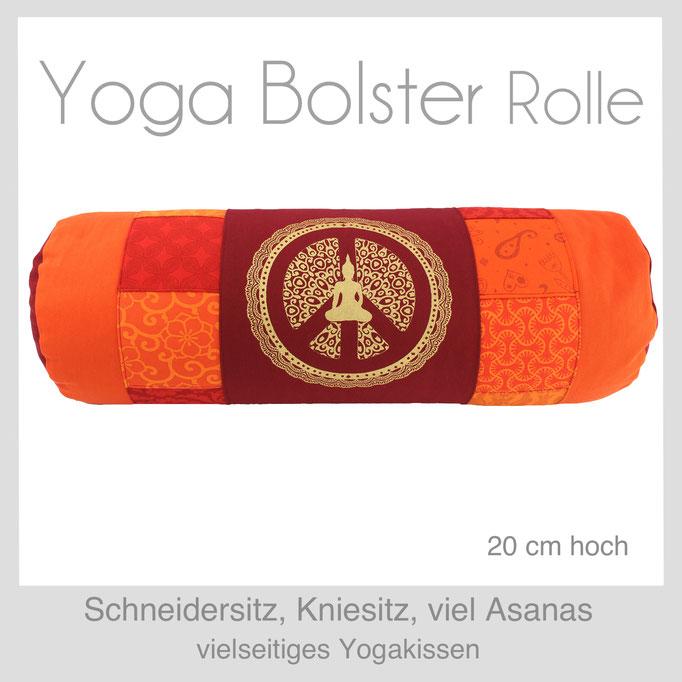 Designer Yoga Bolster Rolle