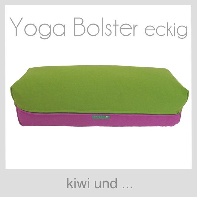 Yoga Bolster eckig Köln kiwi grün