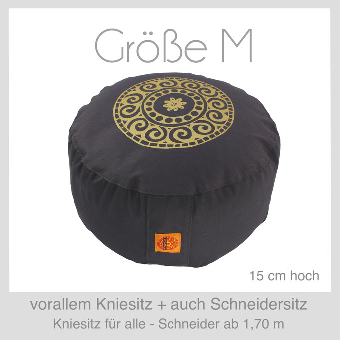 Designer Meditationskissen Gr.M