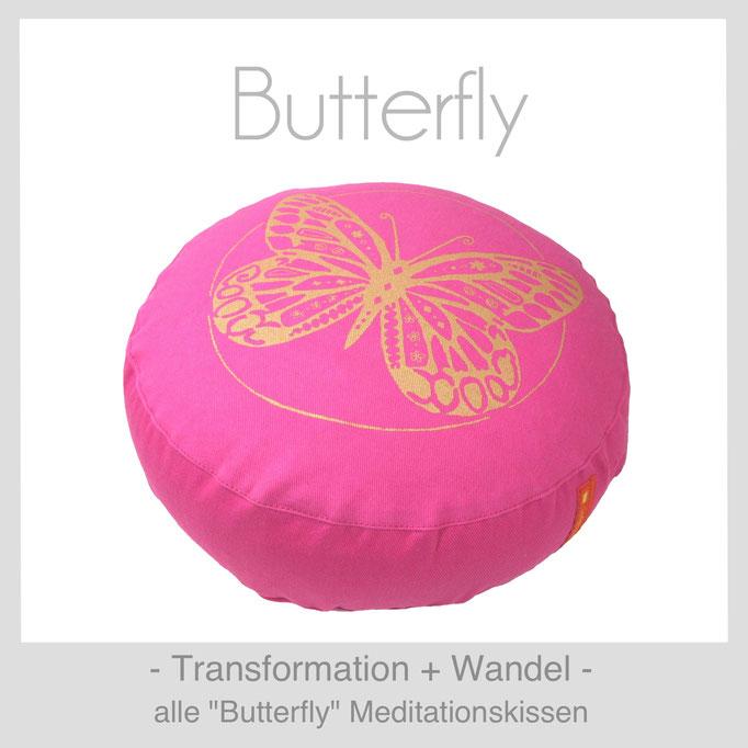 """Designer Meditationskissen """"Butterfly"""""""