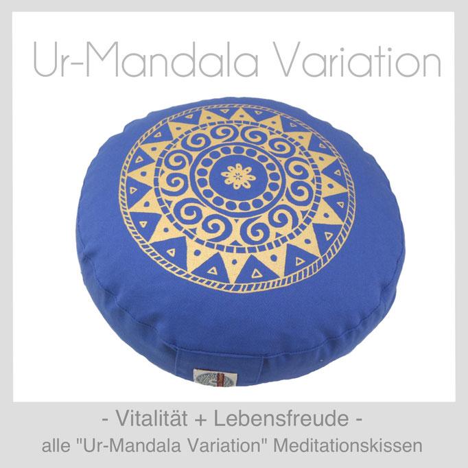 """Designer Meditationskissen """"Ur-Mandala Variation"""""""
