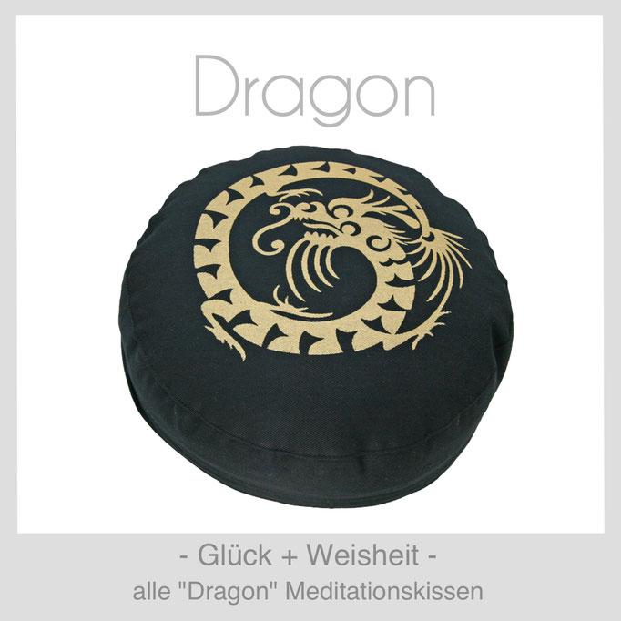"""Designer Meditationskissen """"Dragon"""""""